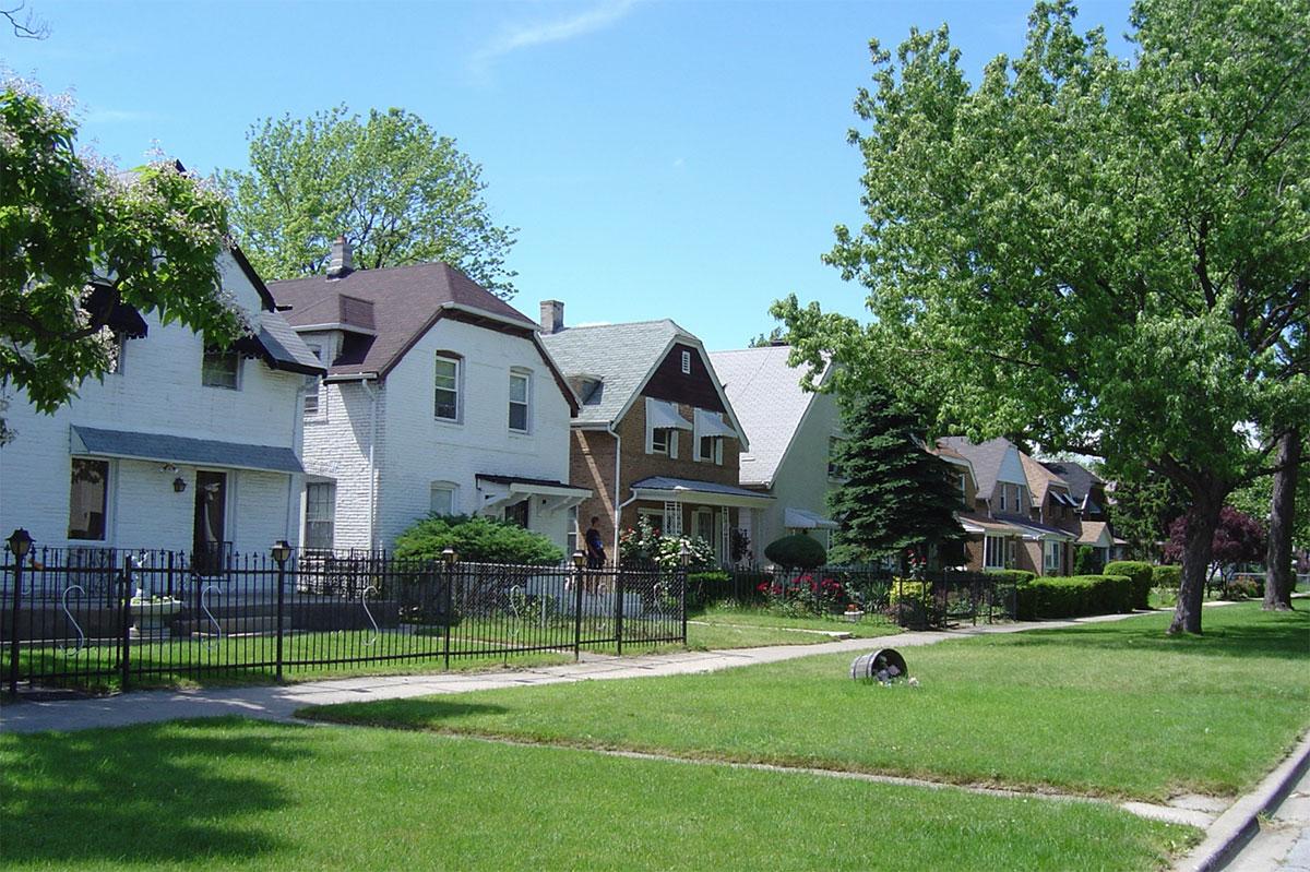 Garden Homes District